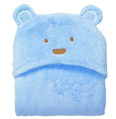 by Towel with Bear Ears for Infant Toddler Newborn and Kids at Bath Pool and Beach ()