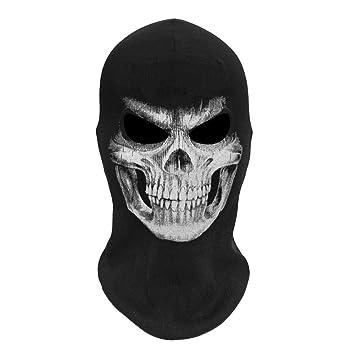 Amazon com - Futureshine Halloween Face Mask Skeleton