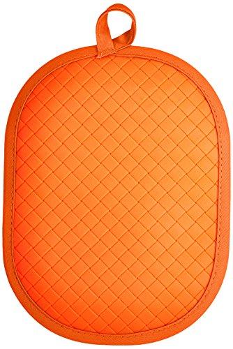 Rachael Ray Pot Holder & Trivet With Silicone Grip, Orange