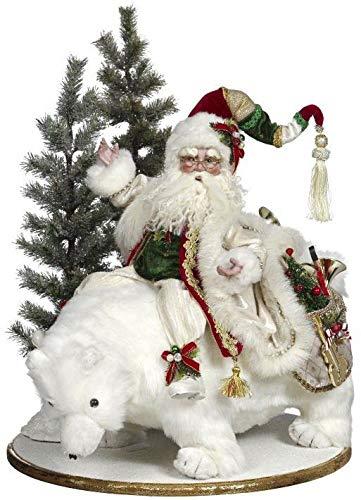 Riding Bear Polar (Santa Riding Polar Bear)