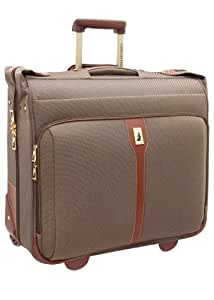 London Fog Luggage Oxford II 44 Inch Wheeled Garment Bag, Tan, One Size