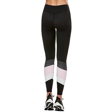 03702e629621 Leggings Hosen Damen Sportleggings Sporthosen Jogginghose Streifen Hüfthose  Strumpfhose Leggins Hose Strumpfhose Gym Fitness Workout Stretch High  Elastic ...