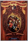 DISNEYLAND RESORT'S ''Country Bear Jamboree'' Classic Attractions Poster - Disney Parks Exclusive & Limited Availability