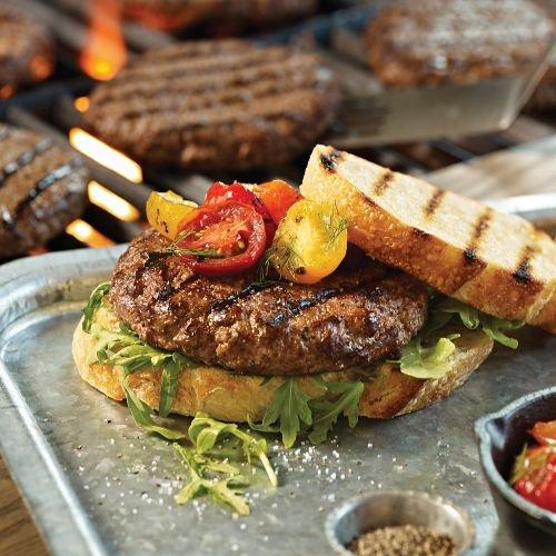 Omaha Steaks 12 (4 oz.) Omaha Steaks Burgers (Omaha Steaks Gift)