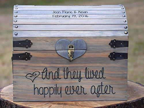 Rustic Wooden Card Box - Rustic Wedding Decor - Wedding Card Box - Rustic Wedding Card Box - Wedding Card Holder - Wedding Card Box