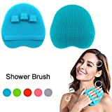 INNERNEED Food-grade Silicone Body Cleansing Brush Shower Scrubber...