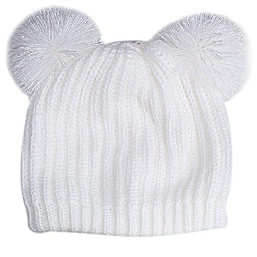 FURTALK Kids Winter Hat Pom Beanie Knit Skull Cap Hats for C