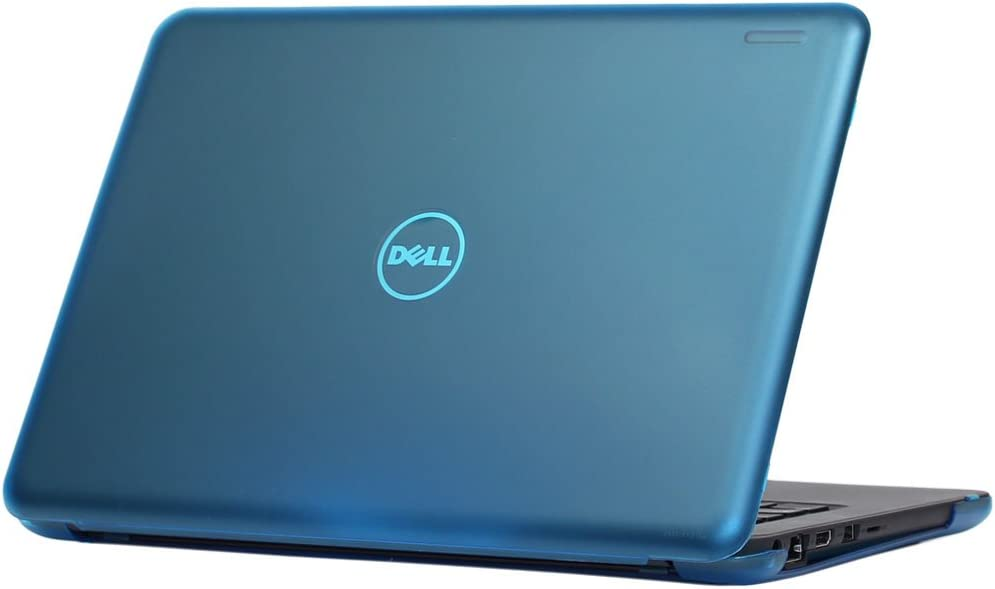 "iPearl mCover Hard Shell Case for 13.3"" Dell Chromebook 13 3380 Series Laptop Computers Released After Feb. 2017 (Aqua)"
