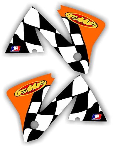 KTM FMF 2001-2002 Shroud Graphic Kit 200 250 380 400 450 520 01-02 Sticker EXC MXC Only