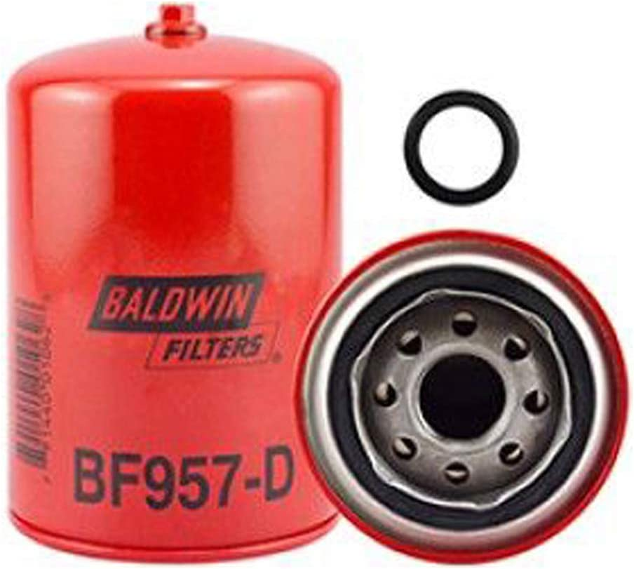 Baldwin BF957D Heavy Duty Diesel Fuel Spin-On Filter