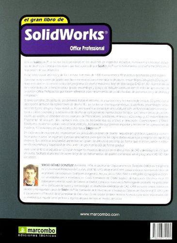 Descargar Libro El Gran Libro De Solidworks: Office Profesional Sergio Gómez González