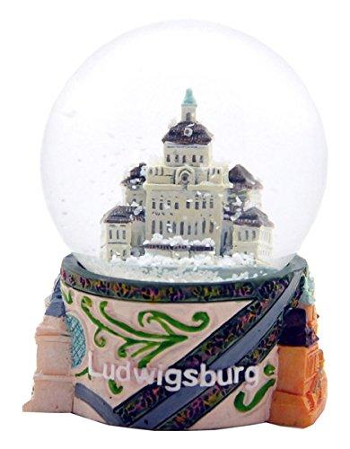 30027 Souvenir palla di neve Alemania Ludwig castello Schneekugelhaus