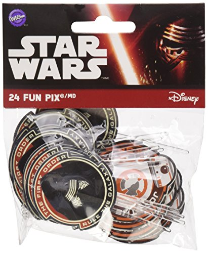 Wilton Fun Pix 24/Pkg-Star -