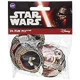 Wilton 2113-5080 24 Count Star Wars Fun Pix, Black