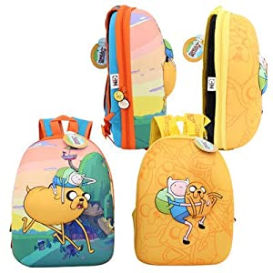 ADVENTURE TIME YELLOW BUBBLE BACKPACK