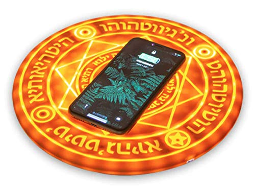 Northwest Innovation Metal Alchemist Comic Magic Array Wireless Charger 5W/10W Magic Circle Qi Wireless Universal Fast Charger Charging Pad - 10W -