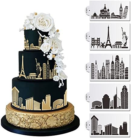Amazing Amazon Com 5 Pc Historic Monuments And Major City Skylines Birthday Cards Printable Riciscafe Filternl