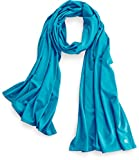 Coolibar UPF 50+ Women's Performance Sun Shawl - Sun Protective (One Size- Blue Turquoise)