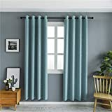 Mangata Casa Blackout curtains With Night Sky Twinkle Star kids,Thermal Insulated Grommet Bedroom