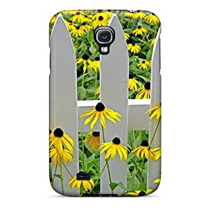Tpu ArtCart Shockproof Scratcheproof The Daisies Of My House Hard Case Cover For Galaxy S4