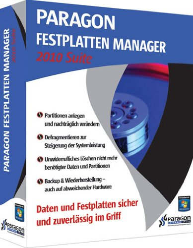 Paragon Festplatten Manager 2010 Suite