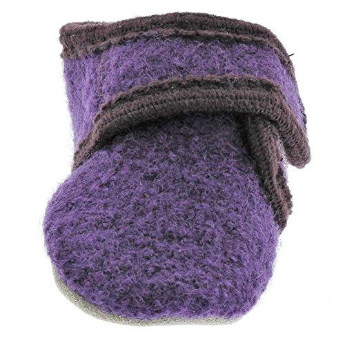 Celavi Patucos para bebé unisex de lana, 100% lana, 5712 Morado