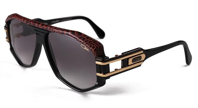 0996273ee9be Amazon.com  Cazal 163 Sunglasses 701 Half Leather 59MM  Clothing