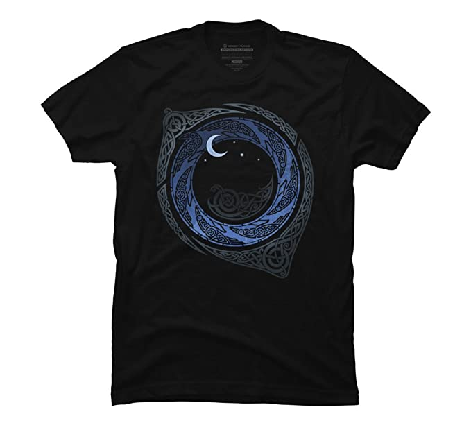 4be0f4bff MOONLIGHT ROUNDELAY Men's 4X-Large Black Graphic T Shirt - Design By Humans