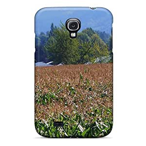 Awesome Design August Barn Corn Field Hard Case Cover For Galaxy S4