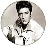 Elvis Presley #3 Music Collection Bottle Opener Round Button Badges With Refrigerator Magnet, NEW 2.25 Inch (58mm) For Sale