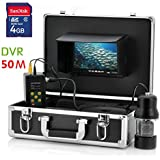 Ennio 50m 7 LCD Underwater Fishing Camera System & Sharp CCD Fishing Camera DVR