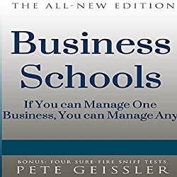 Business Schools: If You Can Manage One Business, You Can Manage Any (Bigshots' Bull)