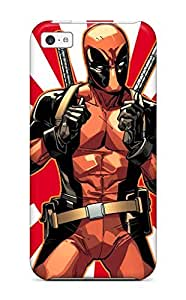 Iphone 5c Case, Premium Protective Case With Awesome Look - Deadpool
