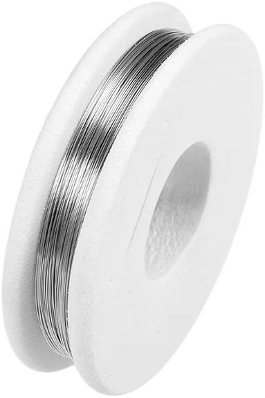 uxcell 0.1mm 38AWG Heating Resistor Wire Wrapping Nichrome Resistance Wires for Heating Elements 32.8ft