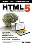 HTML5 for Masterminds, J. Gauchat, 146360405X