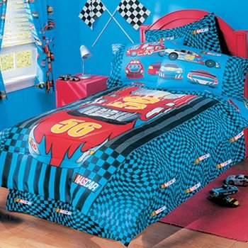 Nascar Road To Victory Twin Bed Skirt
