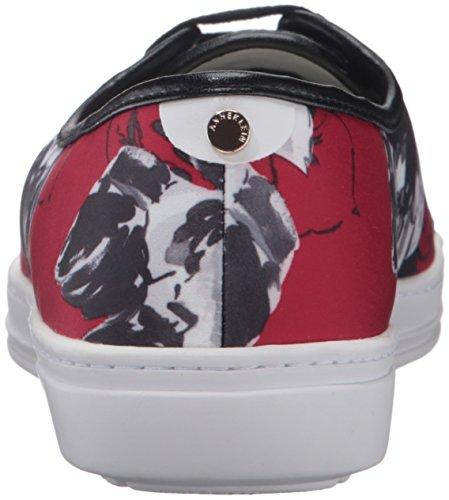 Anne Klein Ak Sport Womens Zagger Fashion Sneaker Rood / Multi