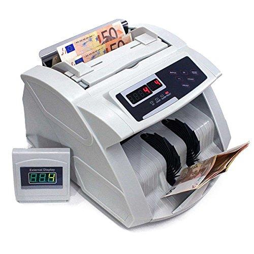 Profi Geldscheinzähler Geldzähler Sortiermaschine Geldsortierer Geldzählmaschine für Banknoten & Geldscheine