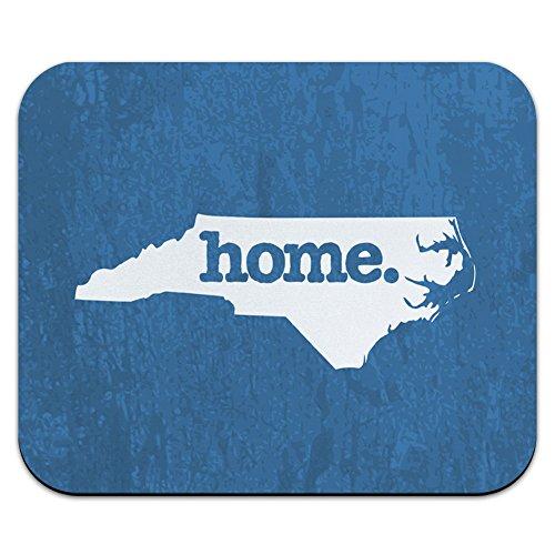 - North Carolina NC Home State Mouse Pad Mousepad - Textured Denim Blue