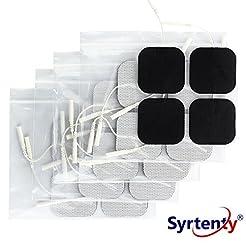 Syrtenty TENS Unit Electrodes Pads 2x2 R...