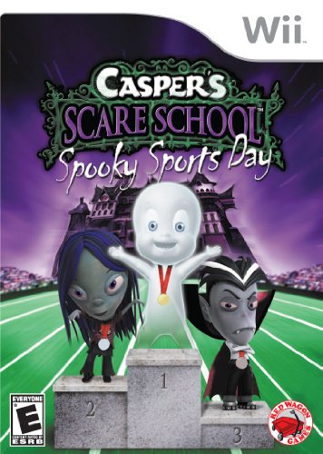 Casper Scare School Spooky Sports Day   Nintendo Wii