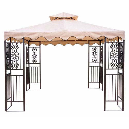 OPEN BOX – Replacement Canopy Top Cover for the Walmart DC America Gazebo – RipLock 350