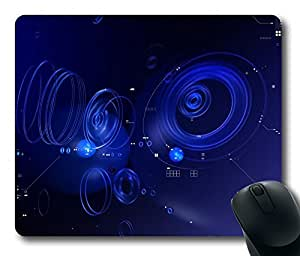 Abstract 51 Gaming Mouse Pad Personalized Hot Oblong Shaped Mouse Mat Design Natural Eco Rubber Durable Computer Desk Stationery Accessories Mouse Pads For Gift - Support Wired Wireless or Bluetooth Mouse