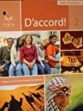 D'Accord! Level 2 Cahier D'Exercices, Vista and Vista Higher Learning, 1605765767