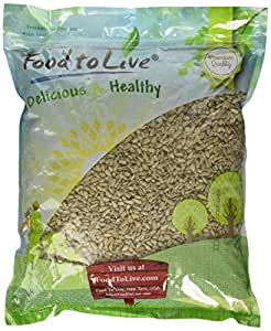 Food to Live Sunflower Seeds Kernels (Raw, No Shell, Kosher) (5 Pounds)