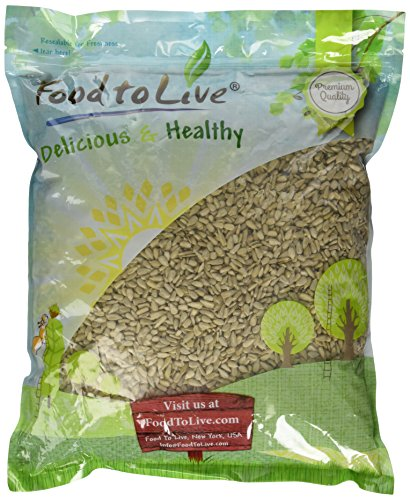Food to Live Sunflower Seeds Kernels (Raw, No Shell) (5 Pounds)