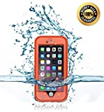 #1 Best Waterproof iPhone 6 Case, Underwater Protective Phone Cover Premium Cases. Shockproof, Dustproof & Scratch Resistant Protection. FREE Bonus Charging Cable, Protect & Defend By Armour Shell.