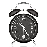 Best Loud Alarm Clocks - DreamSky Battery Analogy Alarm Clock With Backlight, Non Review