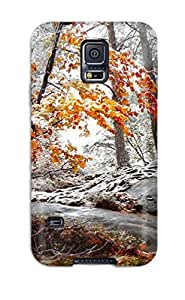 RaRmGfo12454mRasX Case Cover Forest Galaxy S5 Protective Case
