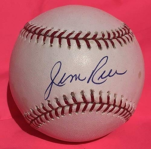 Jim Rice Autographed Signed Baseball Major League Ball Auto Autograph Redsox Hof Psa/Dna ()